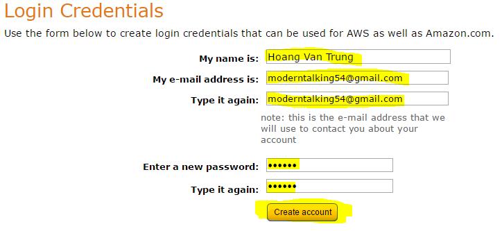 Dat Password cho VPS Amazon