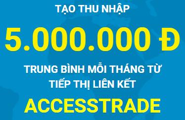 Hướng dẫn đăng ký AccessTrade