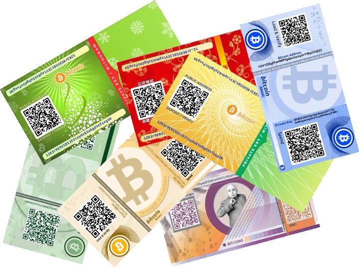 vi giay Bitcoin