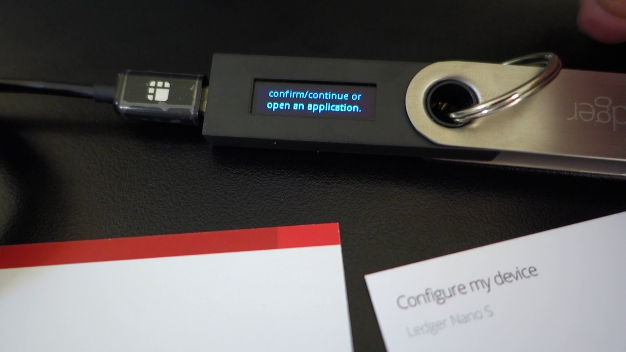 man hinh ledger nano s