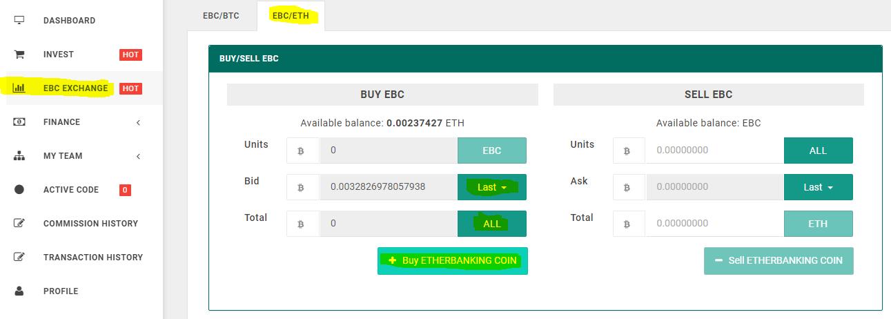 mua EBC trong etherbanking