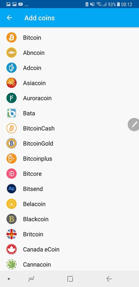 Add bitcoin gold Coinomi 2