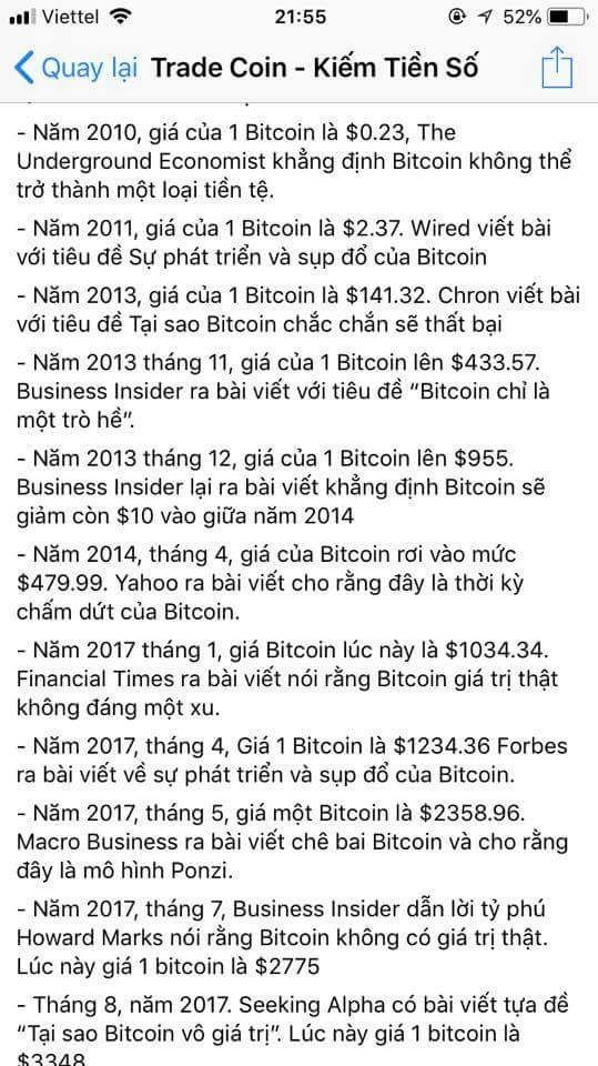 Thong tin tieu cuc Bitcoin