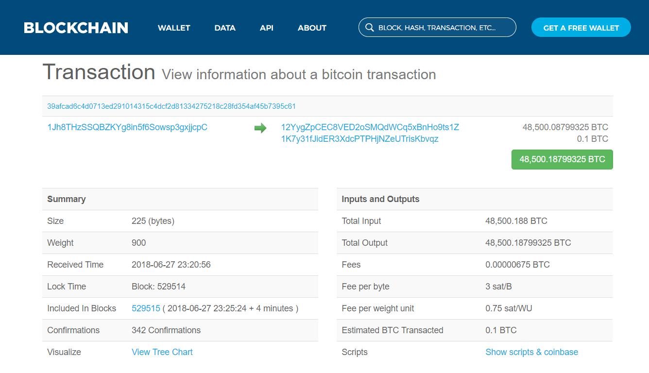 chuyen 300 trieu do Bitcoin phi 4 cent