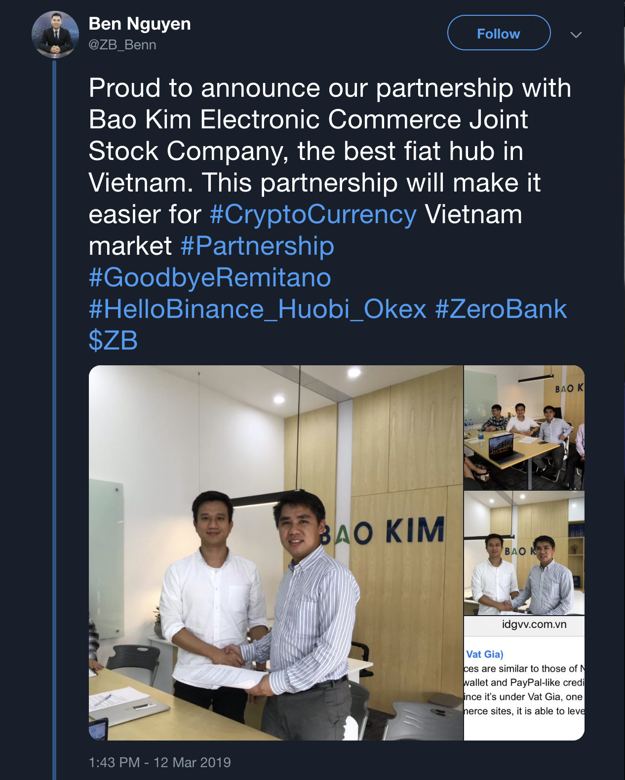 zerobank, zb, remittance